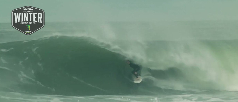 Angelo Bonomelli : Hossegor : The Winter Session