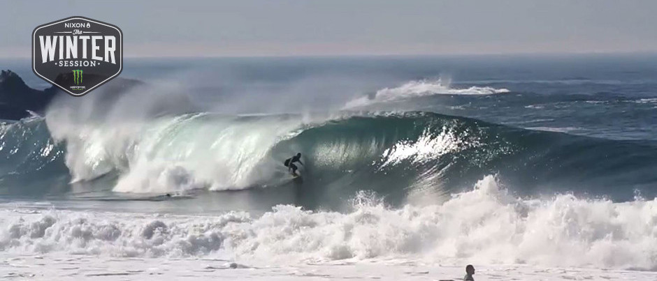 Eric Rebiere : Nazare : The Winter Session