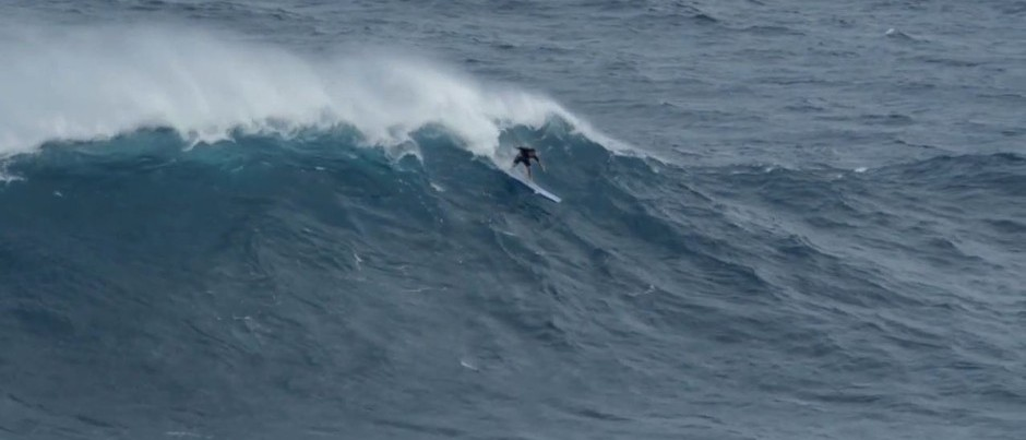 Surfing Jaws on a Soft-Top