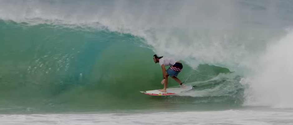 Jordy Smith: Getaway to an Impossibly Long Barrel
