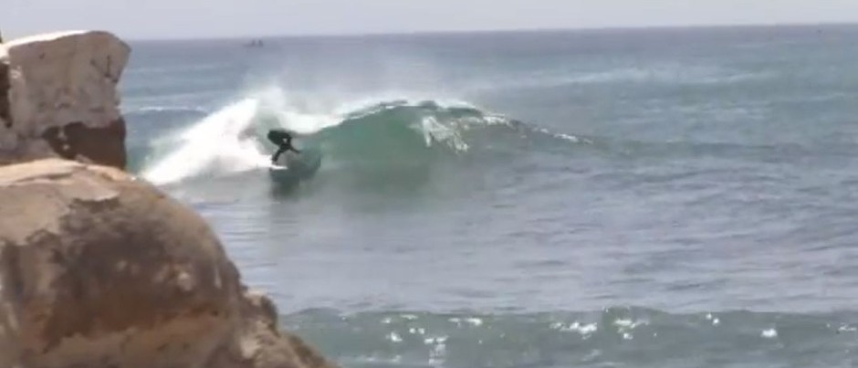 Kepa's First Surf in Senegal