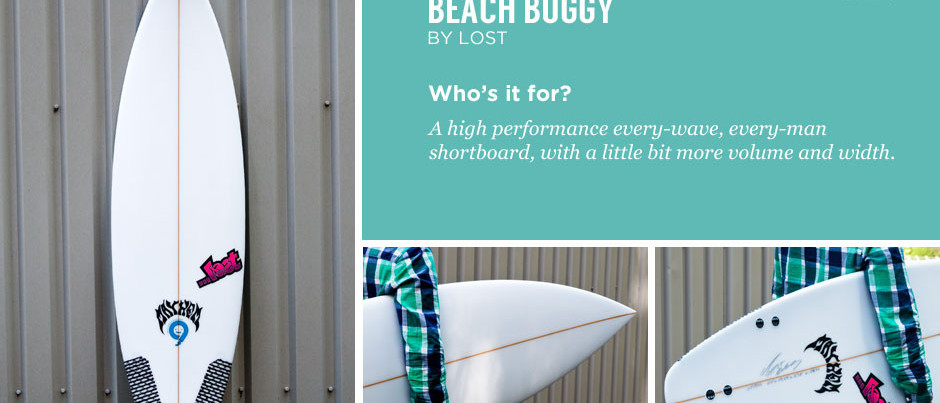 Surfboard Review: Lost Beach Buggy