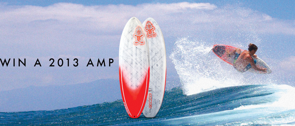 Express Yourself: Win a 2013 Amp Board From Starboard