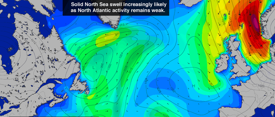 North Sea Swell Alert