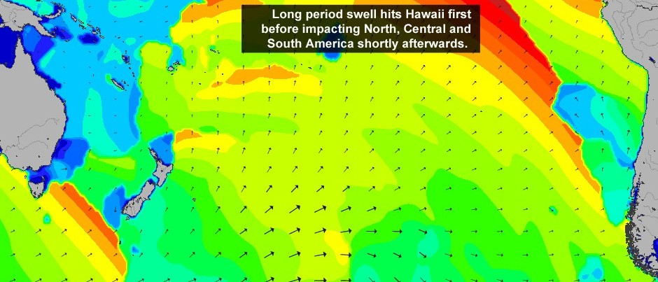 South Swell: The Pacific Propagation