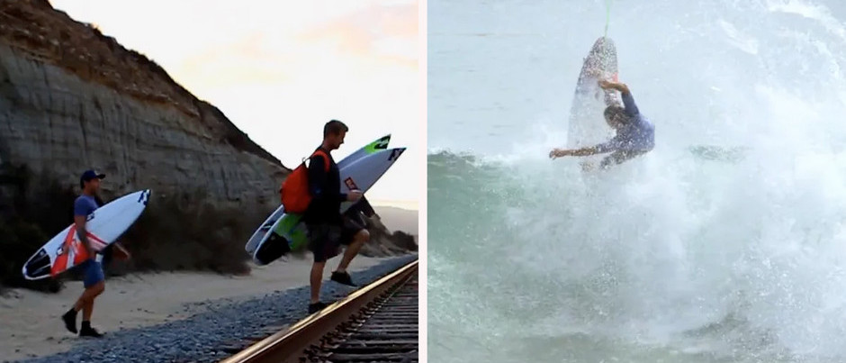 Taj or Julian, Who's the Trestles Freesurf Daddy?
