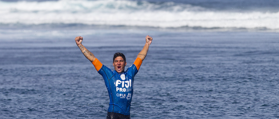 Gabriel at the Double in Fiji Pro Win