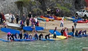 The UK's best surfers get ready to Paddle for Life - event being streamed live on line