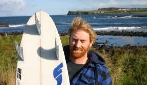Irish Big Wave Charger Al Mennie Joins Future Fins