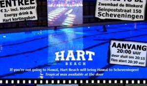 Hart Beach presents: Surf In Movie Night in swimmingpool