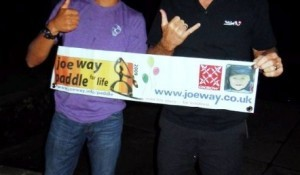 SUP world champion Kai Lenny and Legend Robby Naish support UK Paddle