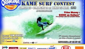 KAME SURF CONTEST 6ème Edition Avril 2010