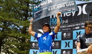 Crisanto Wins Hurley Pro Junior