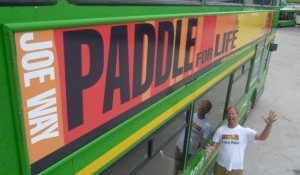 Joe Way Paddle for life BUS