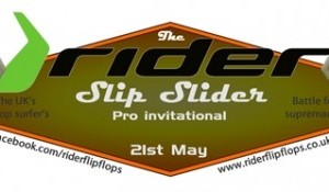 The Rider Slip Slider Pro Surf Invitational
