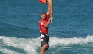Tiffany And Chuck Are Isa Tandem Surfing World Champions !