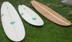 Little Green Rock Unveils Their First Bamboo Surfboards