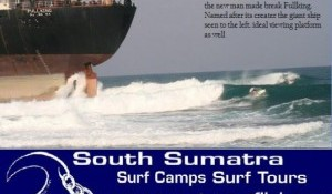 Fullking Runs Aground Creating New Secret Spot In Sumatra