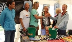 International surfer Ben Skinner supports Cornish Charity