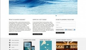 Kandui Resort Launch New Website