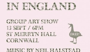 There is No Surf In England - Art Show