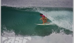 Melanie Bartels Wins Billabong Girls Pro Rio in Rifling Barrels in Brazil