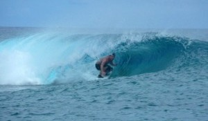 Samoan Surf Report for week 37 2008  from Sa'Moana Resort