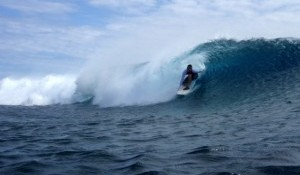 Samoan Surf Report for week 42- 2008  from Sa'Moana Resort