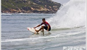 Round 2 of the Hang Loose Santa Catarina Pro On at Imbituba