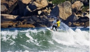 Round 3 of the Hang Loose Santa Catarina Pro in the Water