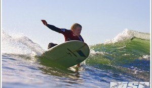 Locals Flare in Round 2 of Oxbow World Longboard Tour at San Onofre State Beach