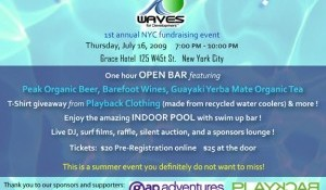 WAVES Pool Party NYC July 16th