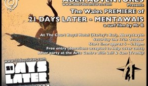 Aberystwyth Screening of '21 Days Later - Mentawais'