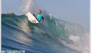 Kelly Wins J-bay Riding His Signature Fcs K-3 Fins.