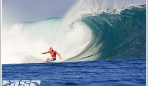 Top Seeds Take Charge in Pumping Lefthanders at Rip Curl Pro Search Round 2