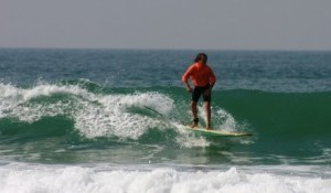 Charity sponsor young Cornish Surfer