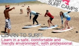 Professional Surfers and Snowboarders Launch Star Surf Camps