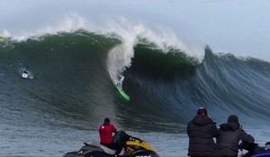Big Wave Tour Opens Northern Hemisphere Waiting Period