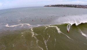 Puerto Escondido Double Drop: From Above and Sans Fins