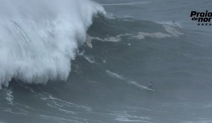 Big Monday at Nazare - A Closer Look
