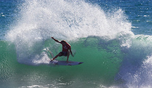Jordy and Steph Victorious at Trestles
