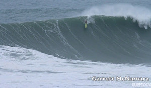 Nazare Without a Ski