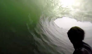 The Longest GoPro Barrel Ever - Namibia's Skeleton Bay