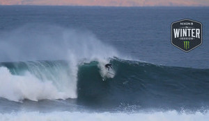 A Haunting Mullaghmore Paddle Session