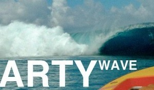Party Waves at Teahupoo